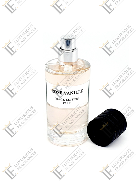 Rose Vanille 2 - Black Edition - Luxurious Fragrances