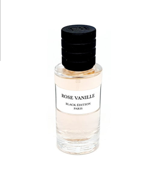 Rose Vanille - Black Edition - Luxurious Fragrances