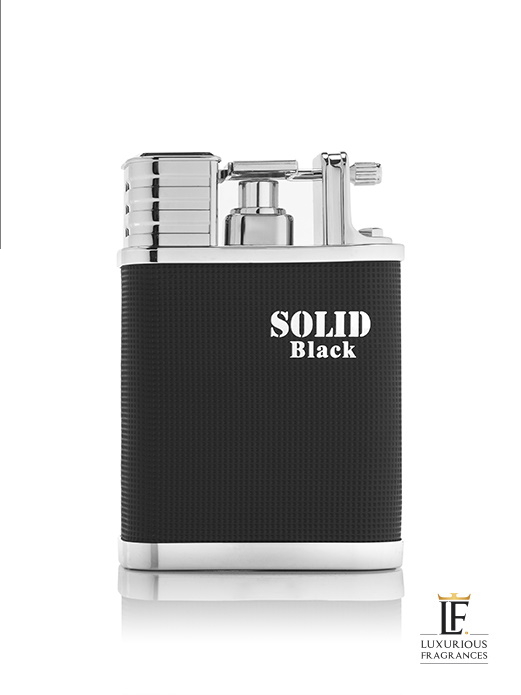 Solid Black - Arabian Oud - Luxurious Fragrances