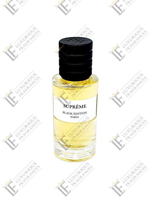Suprême - Black Edition - Luxurious Fragrances