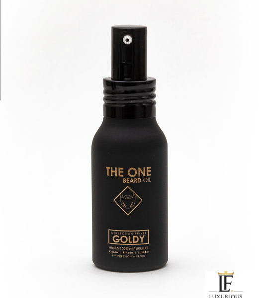 Huile à Barbe Goldy - The One - Luxurious Fragrances