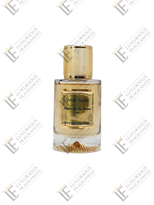 Velvet Vanille - Maison Eau de Couture - Luxurious Fragrances