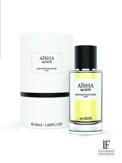 Aisha parfum d'igor Coffret - Les Parfums d'Igor - Luxurious Fragrances