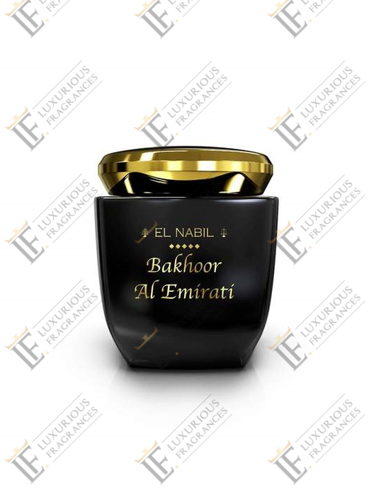 Bakhoor Al Emirati - El Nabil - Luxurious Fragrances