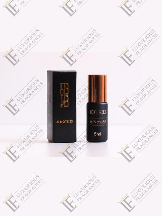 Extrait de Parfum Le Note33 - Note 33 - Luxurious Fragrances