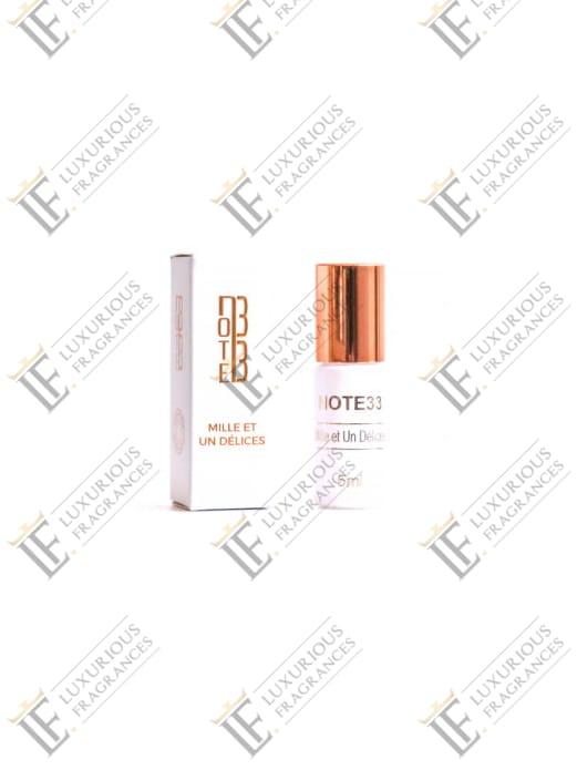 Extrait de Parfum Mille Et Un Délice - Note 33 - Luxurious Fragrances