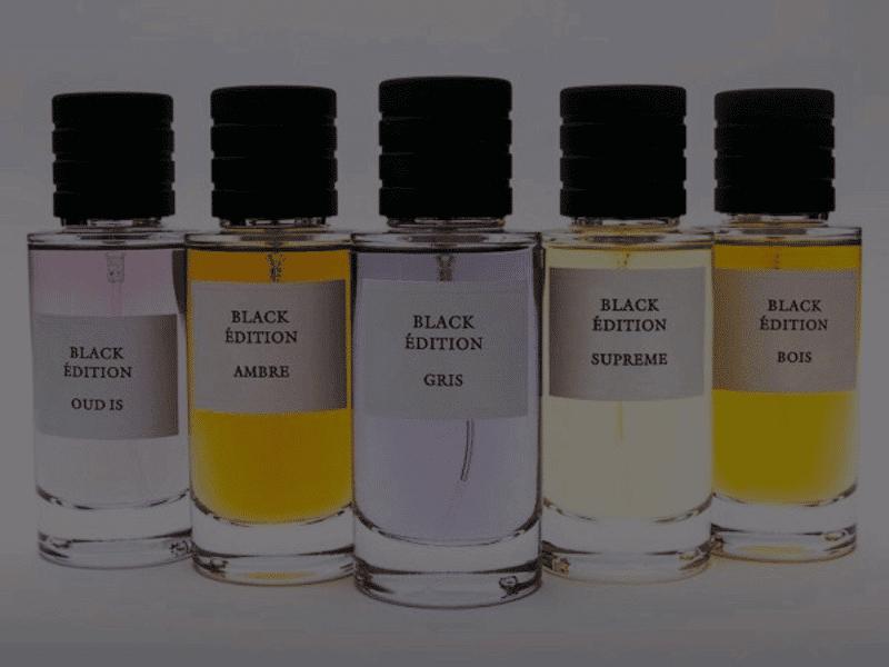 Catégorie Black Édition - Luxurious Fragrances