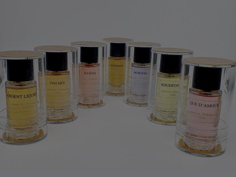 Catégorie Crystal Dynastie - Luxurious Fragrances