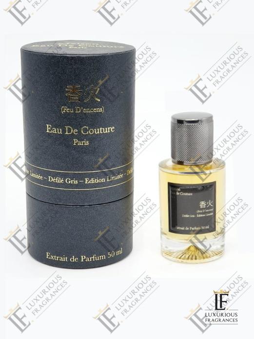 Feu D'encens Défilé Gris Édition Limitée - Maison Eau de Couture - Luxurious Fragrances 23