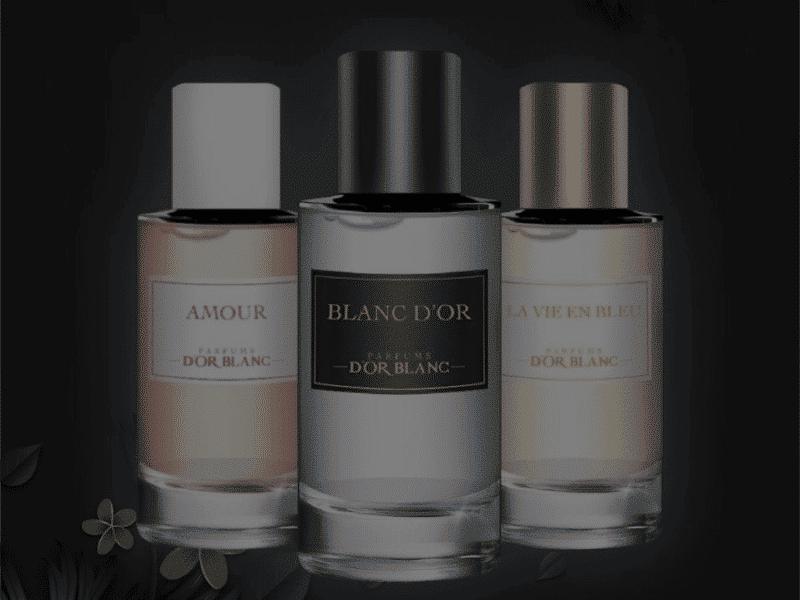 Catégorie Parfums D'or Blanc - Luxurious Fragrances