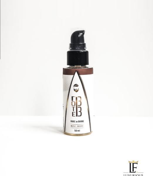 Huile à Barbe Musc Ambre - Note 33 - Luxurious-Fragrances