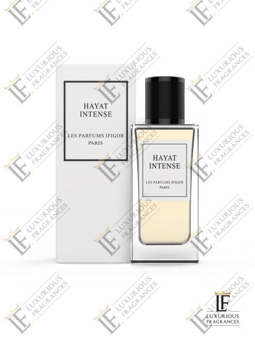 Hayat Intense Coffret - Les Parfums d'Igor - Luxurious Fragrances