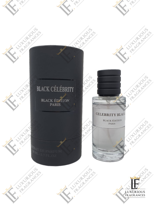 Black Célébrity Coffret - Black Edition - Luxurious Fragrances