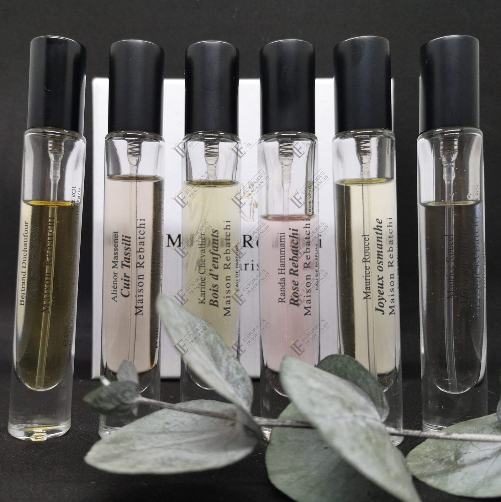 Echantillons Maison Rebatchi - Luxurious Fragrances