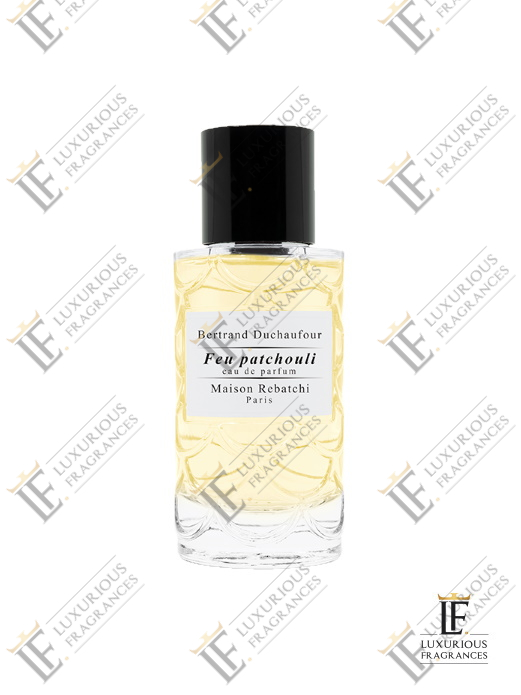 Feu Patchouli - Maison Rebatchi - Luxurious Fragrances