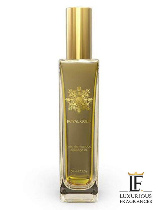 huile de massage royal gold