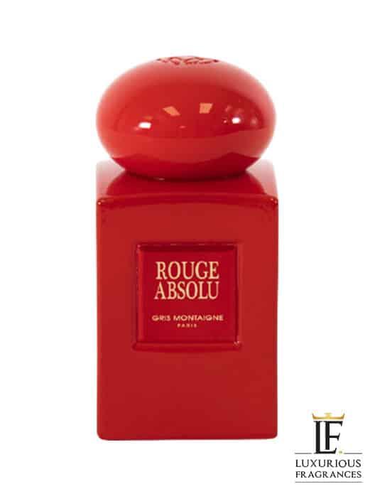 Rouge Absolu - Gris Montaigne Paris