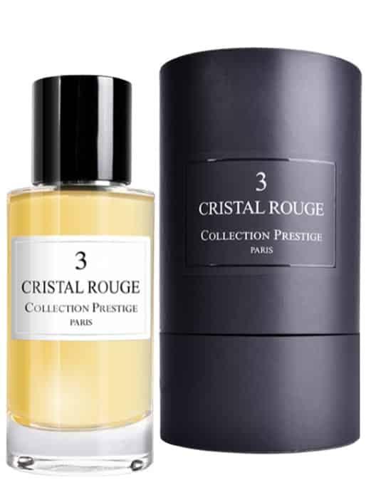 Cristal Rouge n°3 - Collection Prestige Paris
