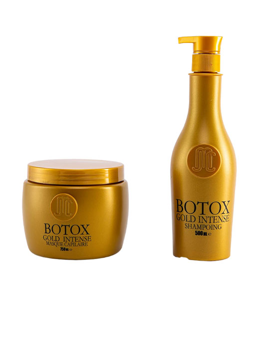Botox Capillaire + Shampoing Gold Intense - Jean-Michel Cavada